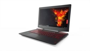 Lenovo Y720 Gaming Laptop, front view