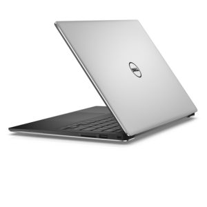"Dell XPS 13"" Laptop, rear three-quarters view"